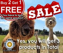 buy 2 get one , alpaca products incastreasures