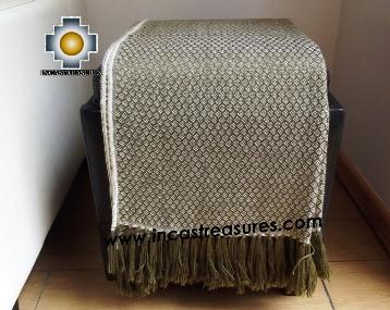 Alpaca Blanket gardens  - Product id: alpacablanket16-03 Photo03