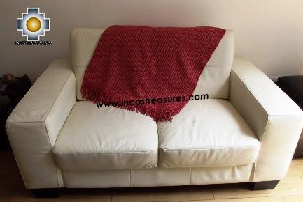 Alpaca Blanket illariy  - Product id: alpacablanket15-01 Photo02