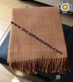 Alpaca Blanket lucuma  - Product id: alpacablanket16-01 Photo03