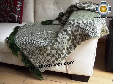 Alpaca Blanket Rainforest
