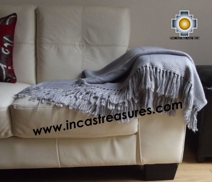 Alpaca Blanket treasures  - Product id: alpacablanket16-06