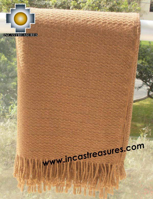 Alpaca Blanket yunka  - Product id: Alpacablanket10-05 Photo02