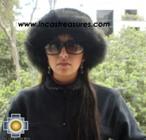 Alpaca fur hat cuajone black - Product id: ALPACA-FUR-HAT-11-03 Photo01