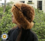 Alpaca fur hat cuajone camel - Product id: ALPACA-FUR-HAT-11-05 Photo02