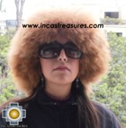 Alpaca fur hat cuajone camel - Product id: ALPACA-FUR-HAT-11-05 Photo01