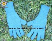 100% Alpaca Wool Knit Fingerless Gloves Solid Color - Product id: ALPACAGLOVES09-36 Photo06