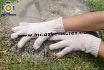 100% Alpaca Wool gloves AYCHA