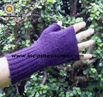 100% Alpaca Wool Mitts Solid Color - Product id: ALPACAGLOVES09-37 Photo02