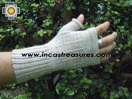 100% Alpaca Wool Mitts Solid Color - Product id: ALPACAGLOVES09-37 Photo06