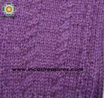 100% Alpaca Wool Wrist Warmers Gloves Solid Color - Product id: ALPACAGLOVES09-35 Photo07