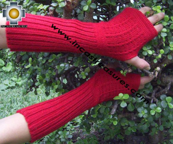 alpaca wrist warmers gloves