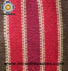 Alpaca Scarf with stripes ollantaytambo  - Product id: alpaca-scarf-03 Photo04