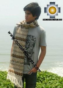 Alpaca Wool Scarf boa  - Product id: alpaca-scarf-18 Photo02