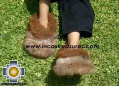 Baby Alpaca Slipper brown Ampato - Product id: ALPACASLIPPERS09-02 Photo02