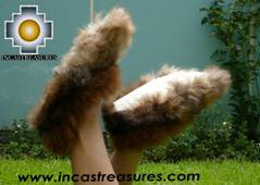 Baby Alpaca Slipper brown Ampato - Product id: ALPACASLIPPERS09-02 Photo04