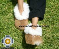 Baby Alpaca Slipper Camel ALPAMAYO - Product id: ALPACASLIPPERS09-01 Photo03
