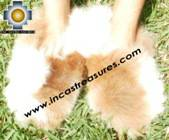 Baby Alpaca Slipper Spotted Ubinas - Product id: ALPACASLIPPERS09-04 Photo03