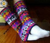 Alpaca Leg Warmers Huancavelica - Product id: ALPACASOCKS09-08 Photo02