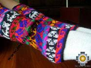 Alpaca Leg Warmers Huancavelica - Product id: ALPACASOCKS09-08 Photo03