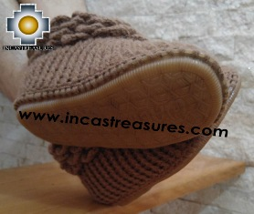 100% Alpaca Boots Solid Color BOTITA