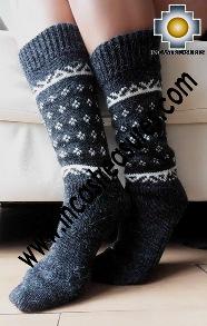 Medium 100% Alpaca Socks Exclusive SUNQU