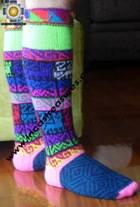 Long Alpaca Socks Juliaca - Product id: ALPACASOCKS09-11 Photo02