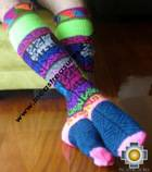 Long Alpaca Socks Juliaca - Product id: ALPACASOCKS09-11 Photo01