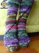 Long Alpaca Socks spring - Product id: ALPACASOCKS09-13 Photo02