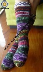 Long Alpaca Socks spring - Product id: ALPACASOCKS09-13 Photo01