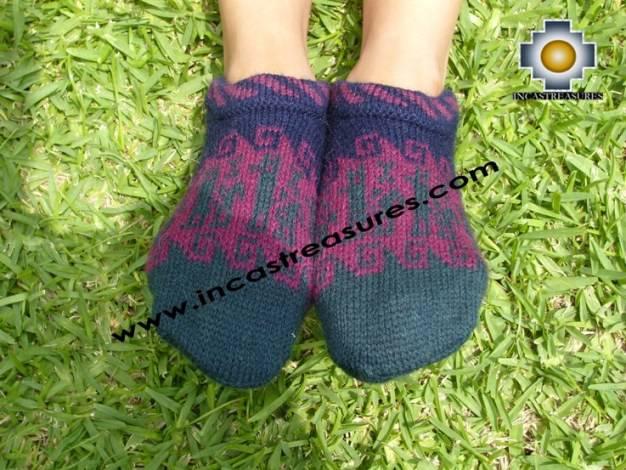 100% Alpaca Socks with designs andahua - Product id: ALPACASOCKS09-04 Photo01