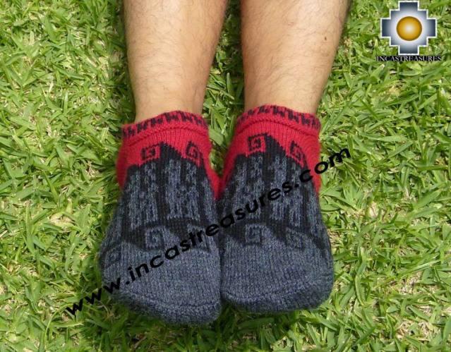 100% Alpaca Socks with designs chachani    - Product id: ALPACASOCKS09-07