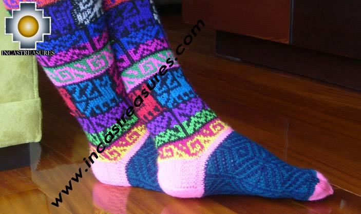 Long Alpaca Socks Juliaca - Product id: ALPACASOCKS09-11