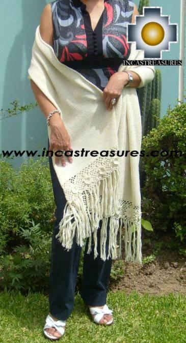 Baby Alpaca Shawl Ayar auca  - Product id: alpaca-shawl-03
