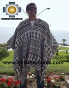 Alpaca Poncho extrafine sumaq UNISEX  - Product id: ALPACA-PONCHO12-01 Photo01