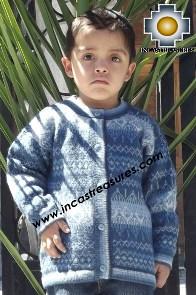 100% Alpaca Children Sweater Uvita  - Product id: children-sweater13-03 Photo04