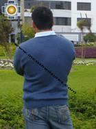 100% Alpaca Men Sweater Chullpa  - Product id: MENS-SWEATER09-01 Photo03