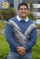 100% Alpaca Men Sweater Chullpa  - Product id: MENS-SWEATER09-01 Photo02