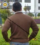 100% Baby Alpaca Sweater Crew Neck  - Product id: MENS-BABY-ALPACA-SWEATER09-09 Photo02