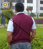 100% Baby Alpaca Classic Vest  - Product id: Mens-Baby-alpaca-Sweater09-11 Photo06
