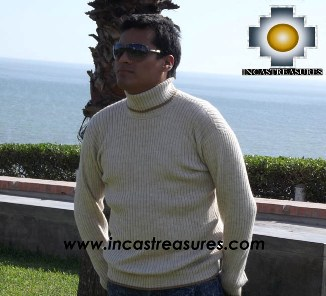 Men Alpaca Sweater Crew Neck - Product id: womens-100-baby-alpaca-sweater13-10 Photo01