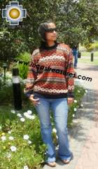 women alpaca sweater contisuyo  - Product id: womens-alpaca-sweater12-09 Photo01