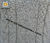 women alpaca sweater gray-irish  - Product id: womens-alpaca-sweater11-08 Photo02