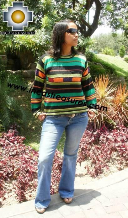 Women alpaca sweater ARANYAY