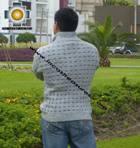 100% Alpaca Jacket Trujillo  - Product id: MENS-SWEATER09-07 Photo02