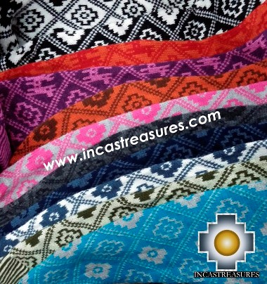 Color Chart - Unisex alpaca sweatshirt Chakanita Assorted- 100% Alpaca