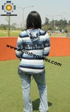 100% Alpaca Women Sweatshirt cuculi  - Product id: women-alpaca-sweater12-03 Photo02