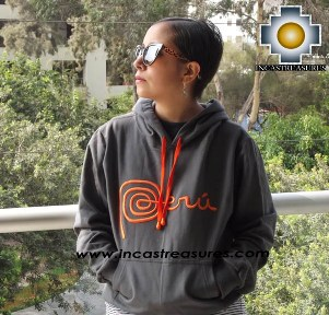 100% Alpaca Women Sweatshirt Peru  - Product id: women-alpaca-sweater13-01 Photo02