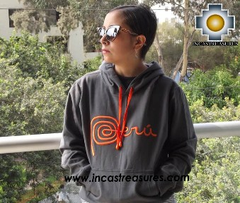 100% Alpaca Women Sweatshirt Peru  - Product id: women-alpaca-sweater13-01 Photo03