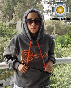 100% Alpaca Women Sweatshirt Peru  - Product id: women-alpaca-sweater13-01 Photo05